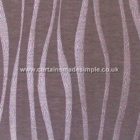 Chicanna - Lavender - Lavender purple fabric with wavey stripes