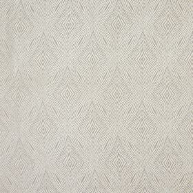 Iona - Stone - Stone grey fabric with stone grey coarse diamond shapes for a modern design