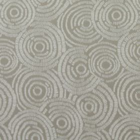 Koko - Stone - Stone sandy fabric with circle impressions