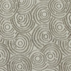 Koko - Mole - Sandy fabric with mole brown circle impressions