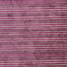 Kimi - Berry - Berry purple and sandy striped fabric