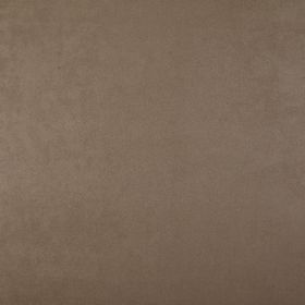 Mirage - Mushroom - Dark brown coloured 100% polyester fabric with no pattern