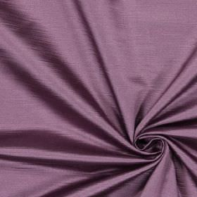 Alba - Plum - Plain plum purple fabric