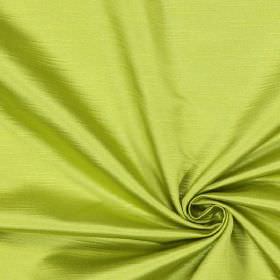 Alba - Lime - Plain lime green fabric