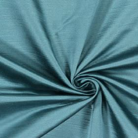 Alba - Teal - Plain teal fabric