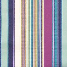 Monaco - Jewel - Blue and purple mixed stripe fabric