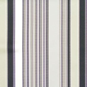 Monaco - Onyx - Grey mixed stripe fabric