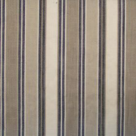 Somerville - Onyx - Onyx black and sandy striped fabric