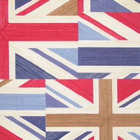 Jack - Regent - Fabric with printed union jacks