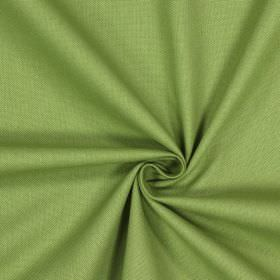 Panama - Willow - Unpatterned fabric made from 100% cotton in fern green