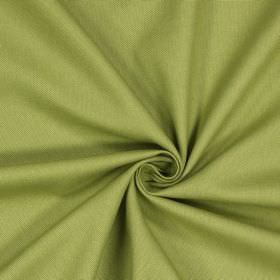 Panama - Olive - Mustard coloured fabric made entirely from cotton with no pattern