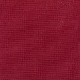 Panama - Claret - Plain dark red cotton fabric