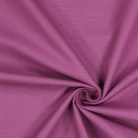 Panama - Wisteria - Fuschia coloured fabric made entirely from unpatterned cotton