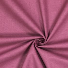 Panama - Cranberry - Rich mauve coloured 100% cotton fabric with no pattern