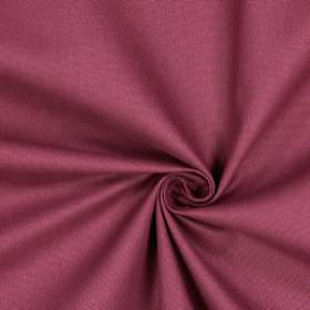 Panama - Mulberry - Plain wine coloured fabric made from 100% cotton