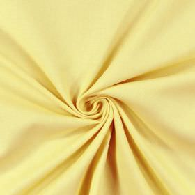 Panama - Primrose - A twist of light creamy yellow coloured 100% cotton fabric