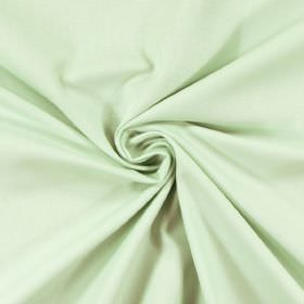 Panama - Aqua - Very pale mint green coloured 100% cotton fabric which has been twisted at the centre
