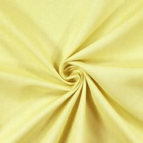 Panama - Pea - 100% cotton fabric which has been laid out in a twisted arrangement, made in a pastel yellow colour