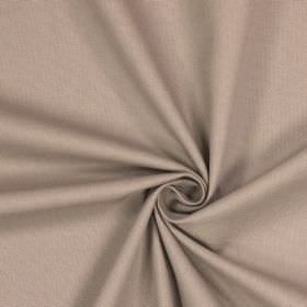 Panama - Putty - Mocha coloured fabric made entirely from cotton