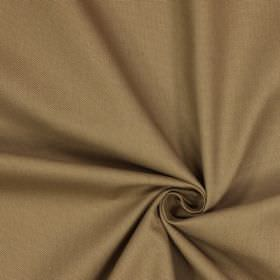 Panama - Almond - Fabric made from 100% cotton in a light shade of brown