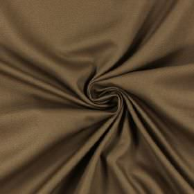 Panama - Walnut - 100% cotton fabric in a pale chocolate brown colour