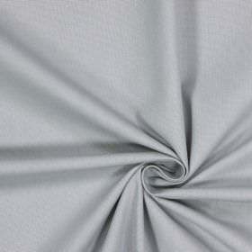 Panama - Slate - 100% cotton fabric made in very pale grey with a warm cream tinge