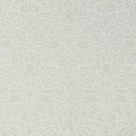 Claydon - Stone - Cotton fabric with a very subtle, ornate pattern in pale shades of grey and beige