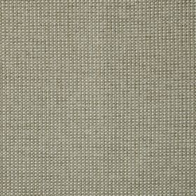 Basket Weave - Natural - Fabric made from steel grey coloured 100% polyester, featuring a pattern of closely spaced miniscule white dots