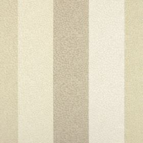 Nickel - Oyster - 100% polyester fabric  in cream, off-white & light brown, with a striped design beneath a pattern of delicate scribbles