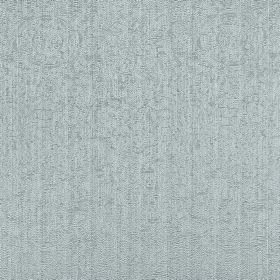 Platinum - Teal - Subtly patterned white and dove grey coloured fabric made entirely from polyester