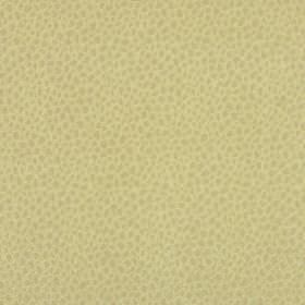 Mineral - Citron - Cream coloured polyester and acrylic blend fabric which has both a snakeskin effect pattern and a slight green tinge