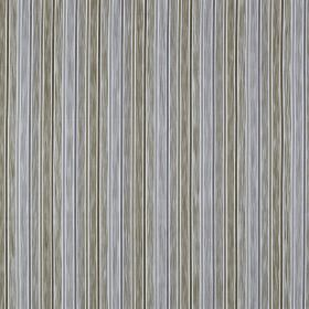 Loiret - Parchment - Duck egg blue and light grey making up a patchily coloured vertical stripe design on fabric made from 100% cotton