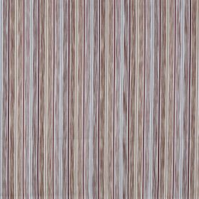 Loiret - Paprika - Patchily coloured stripes running vertically down fabric made from 100% cotton in pastel blue, grey and mauve shades