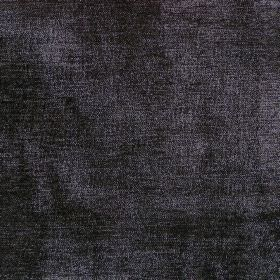 Regency - Ebony - Plain reflective ebony black fabric