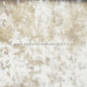 Ritz - Latte - Fabric which is textured in gold-cream, with a slightly mottled effect
