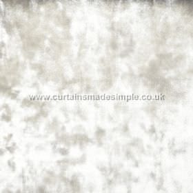 Ritz - Parchment - Textured white and pale grey fabric, resulting in a mottled effect