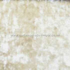Ritz - Brass - Cream and white mottled fabric which is slightly textured