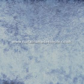 Ritz - Cambridge - Fabric which is slightly textured and mottled in light shades of blue