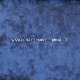 Ritz - Midnite - Rich, navy blue coloured fabric which is both textured and mottled