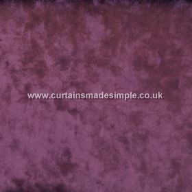 Ritz - Fuchsia - Aubergine coloured fabric which is slightly mottled in colour due to being textured