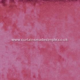 Ritz - Fire - Slightly patchy, textured raspberry coloured fabric
