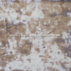 Ritz - Mole - Patchily coloured dark grey-green and light grey textured fabric