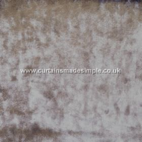 Ritz - Mocha - Fabric which is textured in mottled grey-green and silver colours