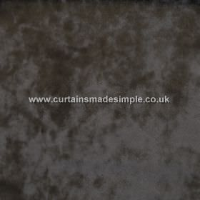 Ritz - Onyx - Swatch of dark grey coloured fabric which is patchy in colour due to the slight texture