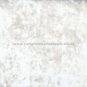Ritz - Pearl - Bright white and light silver coloured fabric with a subtle mottling due to the texture