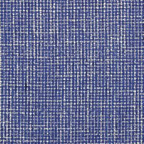Otis - Cobalt - Fabric made from a mixture of polyester and acrylic using Royal blue and white threads