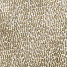 Antelope - Champagne - White-grey 100% polyester fabric featuring a very small, subtle, slightly textured pattern inlight grey-brown