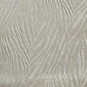 Tiger - Dove - Silver animal stripe style designs creating a subtle pattern on farbic made from 100% polyester