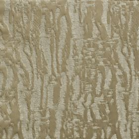 Dune - Savanna - Pale grey and grey-beige coloured 100% polyester fabric featuring a random, rough, uneven pattern of blurred lines
