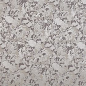 Juma - Lavender - Three different shades of grey making up a subtle, abstract pattern on fabric blended from polyester and cotton